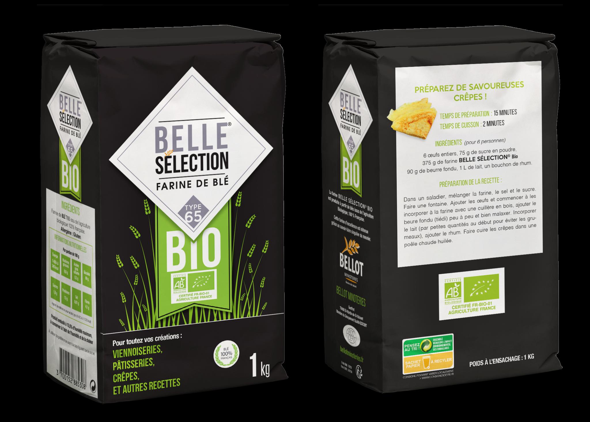 Belle Sélection - Farine Bio T65