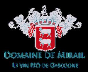 Logo Domaine de Mirail - Vin bio de Gascogne