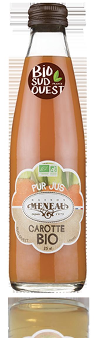 Jus de carotte Meneau